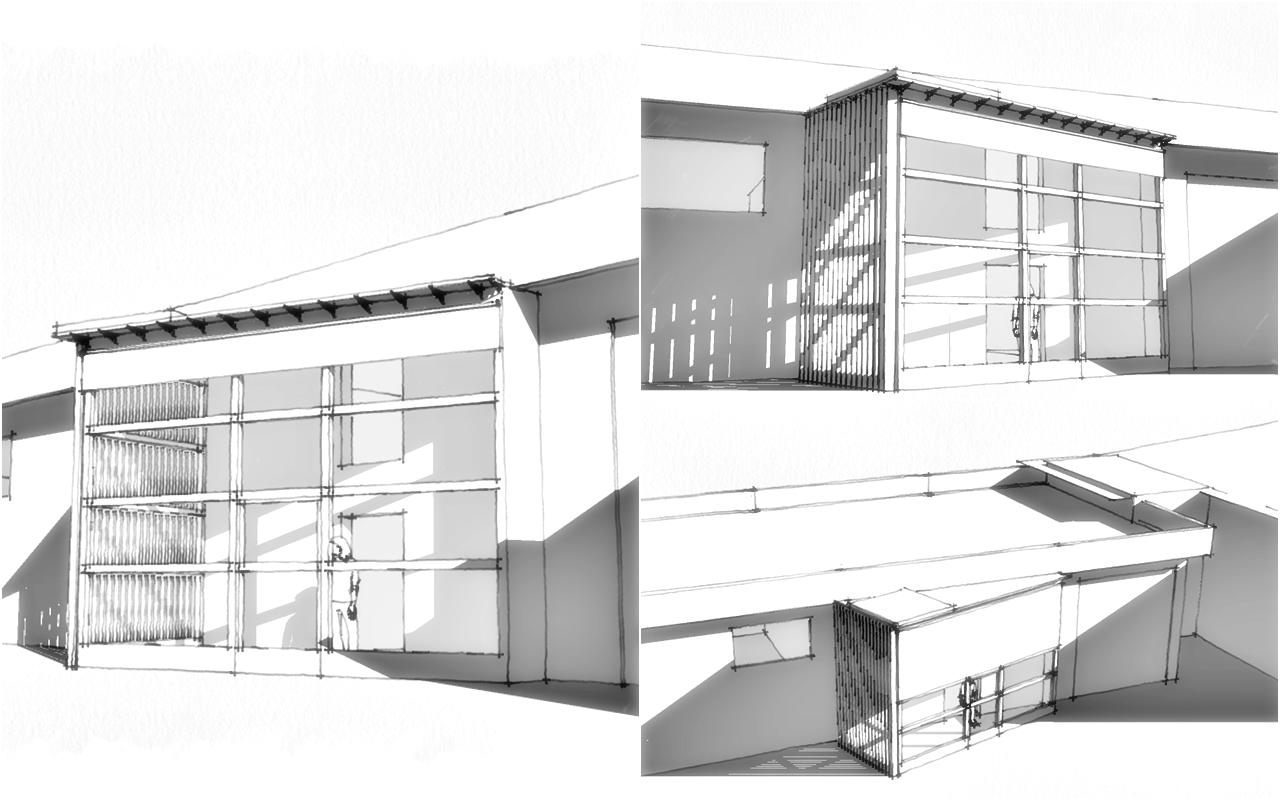 Serra solare bioclimatica capannori lu studio for Serra solare