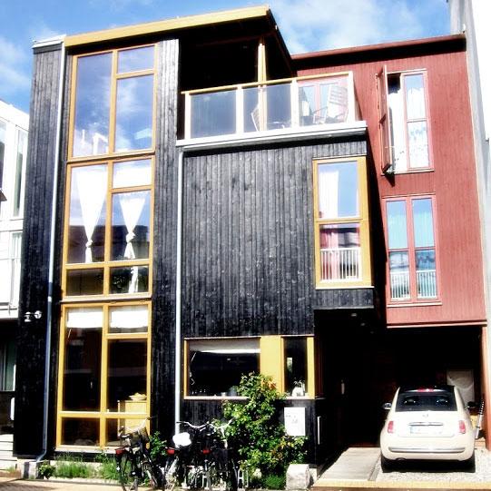 Edifici in legno copenaghen