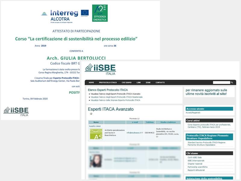 Certificazione Energetico Ambientale ITACA