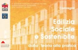 Edilizia Sociale e sostenibile