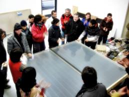 Autocostruzione pannelli solari