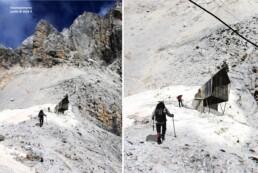 Bivacco alta montagna ecologico e bioclimatico