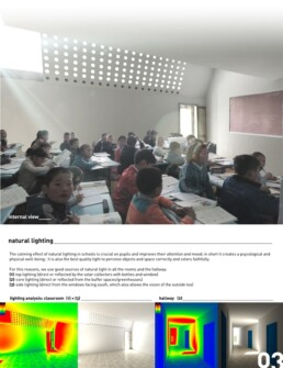 scuola ecologica Mongolia studio luce naturale