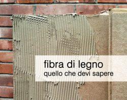 fibra legno isolamento