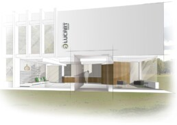 rinnovo hall uffici bioarchitettura